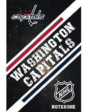 Washington Capitals : Washington Capitals Notebook Weekly Planner | NHL Notebook Fan Essential NFL , NBA , MLB , NHL , NCAA #16