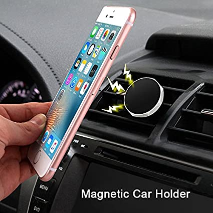 Car Phone Holder (2 Pack) Prime Thanksgiving Men & Women Universal Air Vent Car Phone Holder Magnet Cell Phone Stand for All Smartphones GPS Mobile Devices Magnetic Suppor(2Pack Silver) ksimports.cars