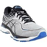 Best Men Running Shoes - ASICS Men's Gel-Cumulus 19 Running-Shoes, Grey/Black/Directoire Blue, 11 Review
