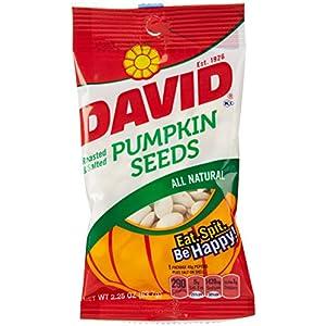 David Pumpkin Seeds, Roasted & Salted, 2.25 Oz | AmazonFresh