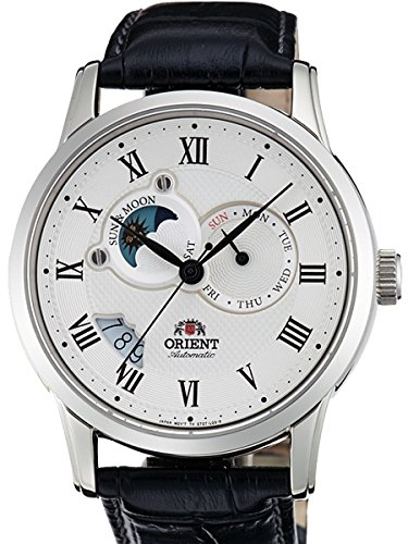 Orient Automatic Sun and Moon Watch with Sapphire Crystal ET0T002S