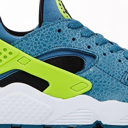 9e424e97ce7cb ... cheap ebay cheap 100% authentic Nike Mens Air Huarache Space Blue and  Volt Trainer 318429
