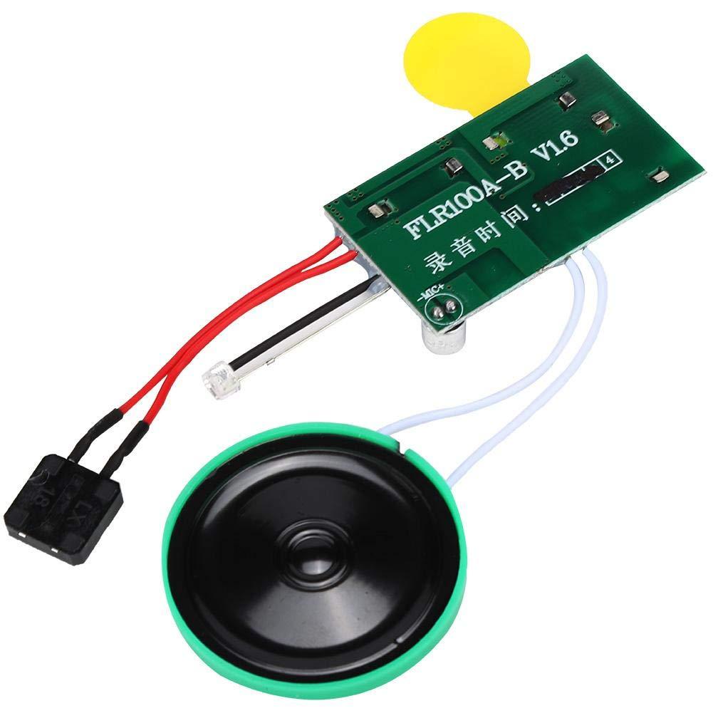Single Play modulo di Auguri 4mb Registrabile Fai-da-Te Musica Suono Conversazione Chip Audio Musicale registratore Radio per Biglietto di Auguri. Garsent Modulo vocale Registrabile