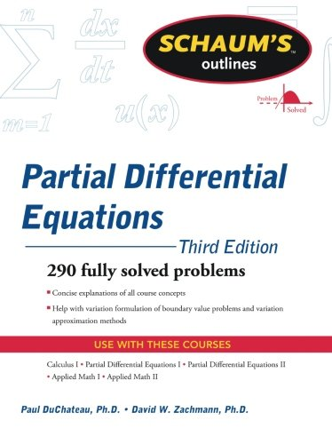 Schaum's Outline of Partial Differential Equations (Schaum's Outlines)