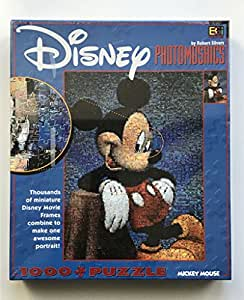 Disney Photomosaic: Mickey Mouse