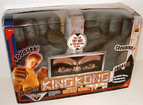 MGA Entertainment King Kong Mighty Hands with power punch...
