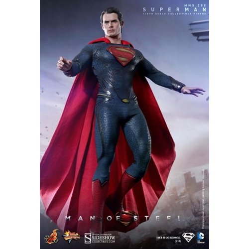 Man of Steel: Superman Movie Masterpiece Sixth Scale Figure by Hot Toys