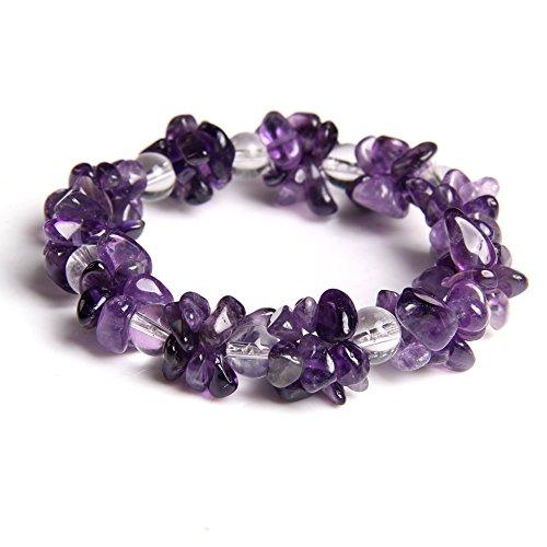 Amethyst Bracelet Healing Precious Handmade