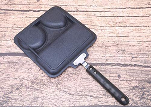DXDUI Multifonction 3 en 1 Fumée Casserole Gratuit Non Stick Petit Déjeuner Pan Frying Pan