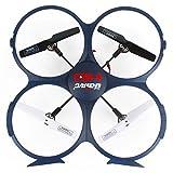 Boyiya UDI U818A-1 2.4GHz 4 CH 6 Axis Gyro RC Quadcopter Drone 720P HD Camera, One Key Return Home Headless Mode Function