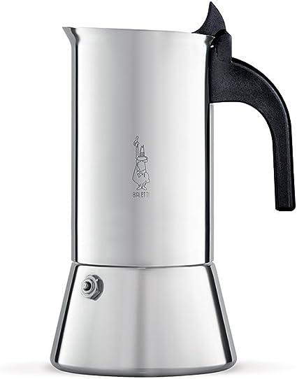 Bialetti Venus Cafetera Italiana Espresso, Acero, Plateado, 4 Tazas: Amazon.es: Hogar