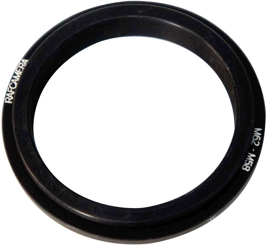 M62x0.75 to M58x0.75 Adapter to Combine Two Lenses for Macrophotography