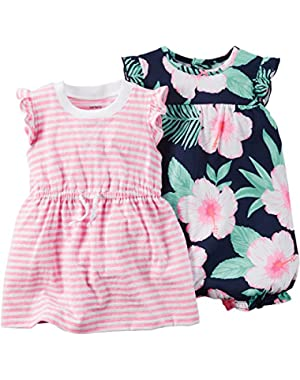 2 Pack Rompers (Baby)