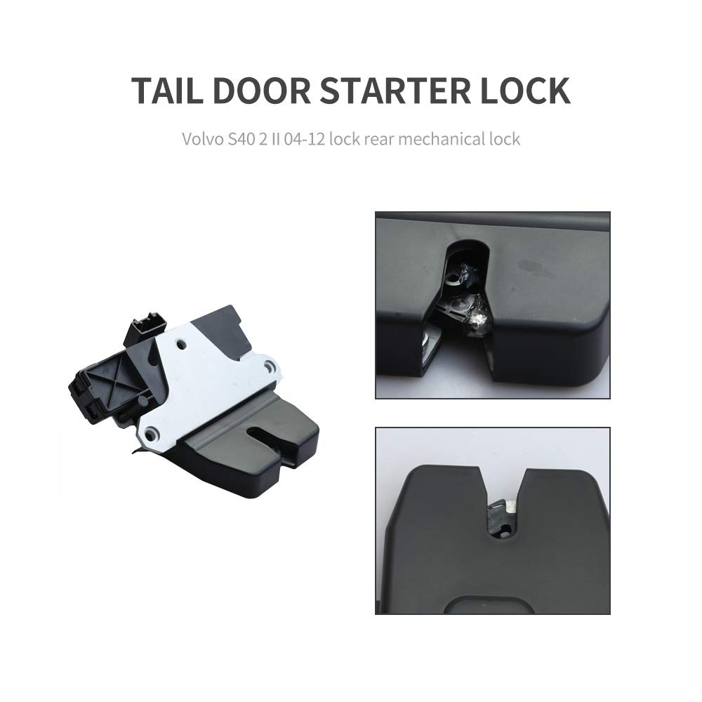 Rear Tailgate Boot Trunk Lid Lock Latch Actuator fit for NEW VOLVO S40 II V50 04-12 Reference OE# 31335047