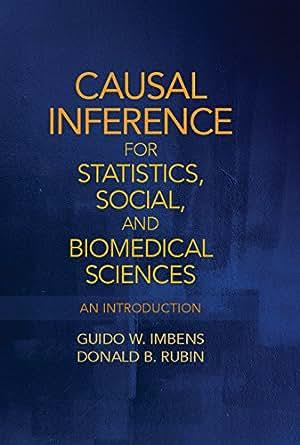 : An Introduction 1, Guido W. Imbens, Donald B. Rubin - Amazon.com