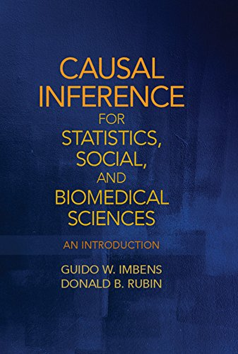 Causal Inference in Statistics, Social, and Biomedical Sciences: An Introduction Pdf