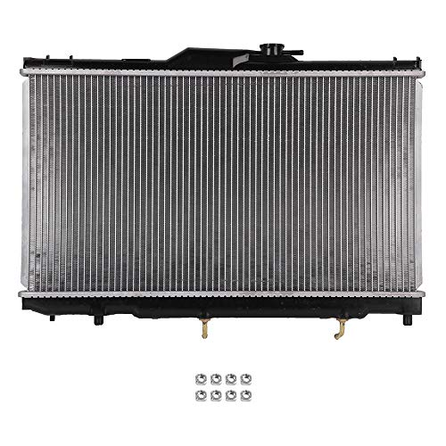 SCITOO Radiator Compatible with 1998-2002 Chevrolet Prizm Toyota Corolla CU2198