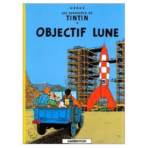 Price comparison product image Les Aventures de Tintin : Objectif Lune - On A Marche sur la Lune (Two Books and DVD Package) (French Edition)