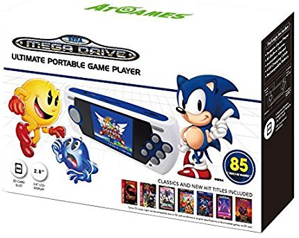 Sega Ultimate Portable Game Player 2017 (Plug And Play Sega Genesis 80 Games)