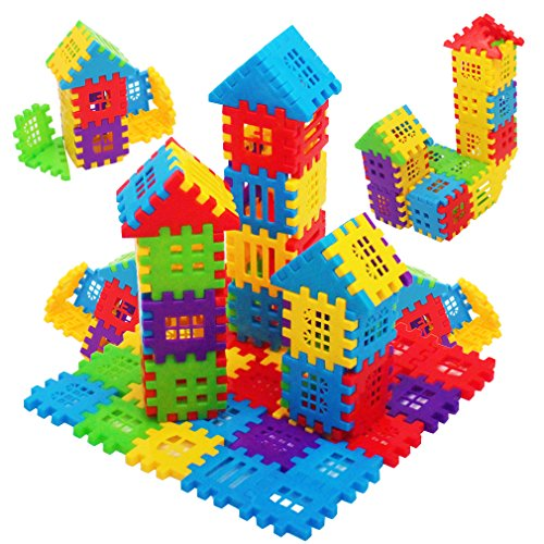 MICHLEY 150 Pcs Builder Sets for Kids Interlocking Builders Blocks