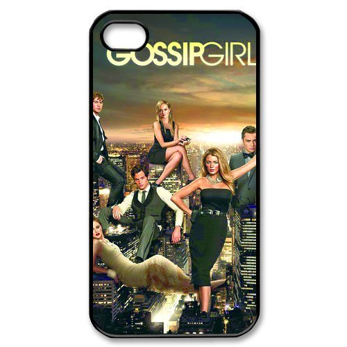Protective Hard Shell Cases Stylish Design Print Cover for Apple iPhone 4 4g 4s Hard Case Cover-Gossip Girl TV Poster-1