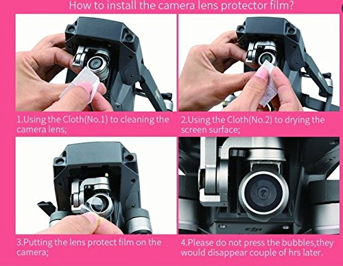 9H-Hard-Tempered-Glass-Camera-UV-Protective-for-DJI-Mavic-Camera-lens-and-PT-membrane-for-Remote-Control-Lens