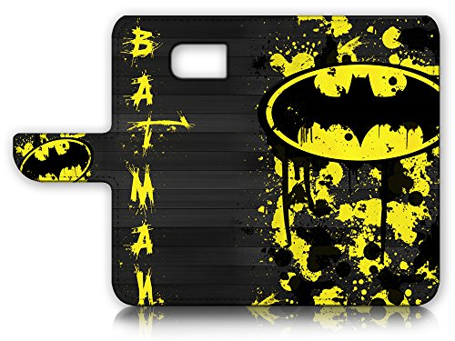 Samsung Galaxy S7 Flip Wallet Case Cover & Screen Protector Bundle! A6240 Batman at Gotham City Store