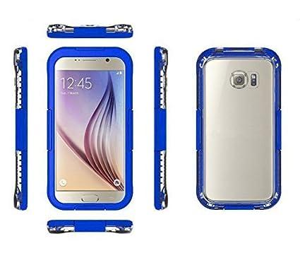 MP power @ Azul funda carcasa acuatica sumergible para Samsung Galaxy S6 s6