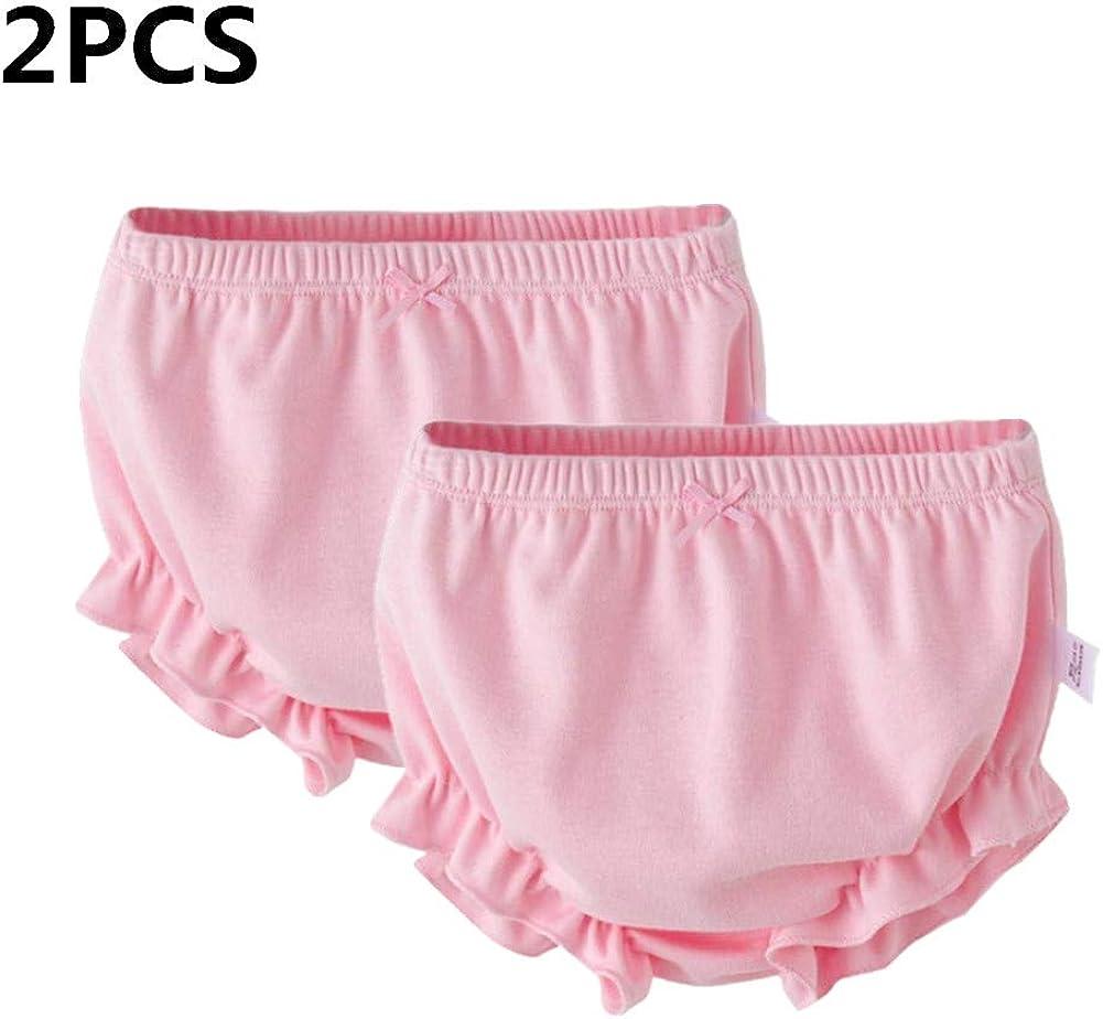 myonly - 2 Bragas Suaves de algodón para bebés y niñas, para niñas ...