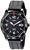 Timex Men's T2N694 Fairlawn Avenue Black Resin Strap Watch