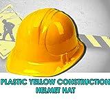Construction Hats Soft Plastic Construction Helmets Hat - 6 Hats Per Order Super Party Hats