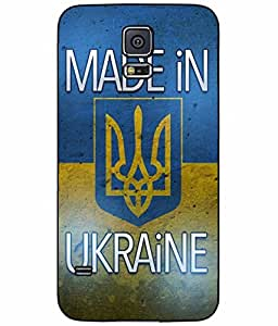 Made in Ukraine Plastic Phone Case Back Cover Samsung Galaxy S5 I9600