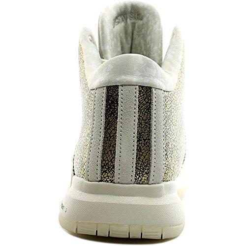 Adidas Prestanda Mens J Vägg 2 Bhm Basket Sko Svart / Talk / Benvitt