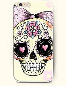 Case Cover For HTC One M7 kull Falling in Love with Bowtie