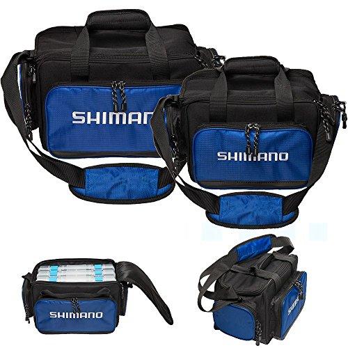 SHIMANO Baltica Tackle Bag - Navy Blue - - Tackle Shimano