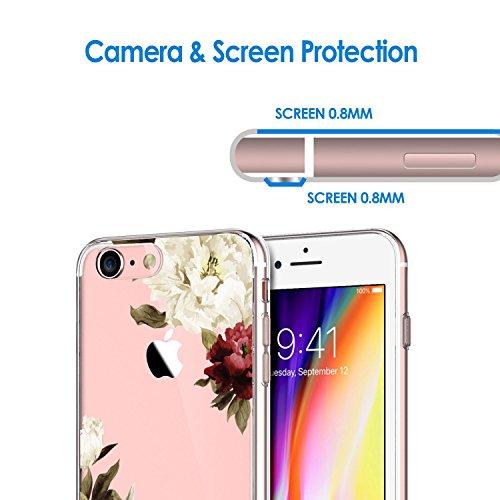Souple Housse Bumper Arrire Etui Silicone Extrme casse pour iPhone TPU anneaux simple Apple Couvercle Slim Modle 7 Fine Gel Qissy cratif suspendus Plumes Coque Ultra K Case PBw6C