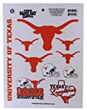 Game Day Outfitters NCAA Texas Longhorns Full Page Vinyl Sticker