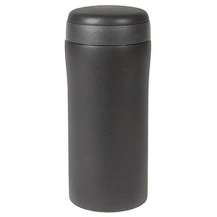 Amazon.com: 300 ml color negro mate Acero inoxidable taza ...