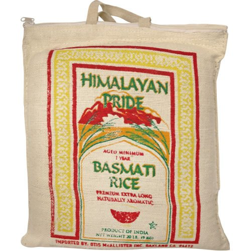 Himalayan Pride White Basmati Rice, 20 lbs by Himalayan Pride