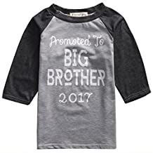 Promoted To Big Brother 2017 Shirt Gift For Elder Sibling - Boy Kids T-Shirt