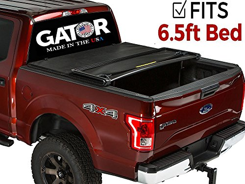- Gator ETX Soft Tri-Fold Truck Bed Tonneau Cover | 59305 | fits Ford F-150 2004-08 (6 1/2 ft bed) without rail system, does not fit flareside