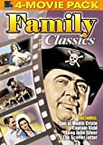 Family Classics 4-Movie Pack - Son of Monte Cristo, Captain Kidd, Long John Silver's Return to Treasure Island, Scarlet Letter