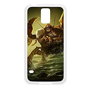 Urgot-004 League of Legends LoL case cover Samsung Galaxy Note4 - Plastic White