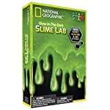 National Geographic Slime DIY Science Lab – Make Glowing Slime (Green)