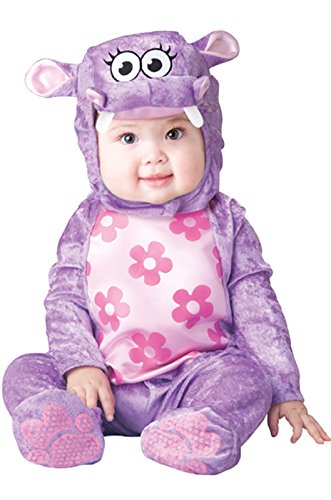 Baby Hippo Costumes (InCharacter Baby Girl's Huggable Hippo Costume, Purple, Medium)