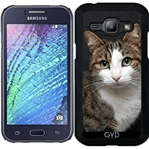 Funda para Samsung Galaxy J1 - Gato by WonderfulDreamPicture