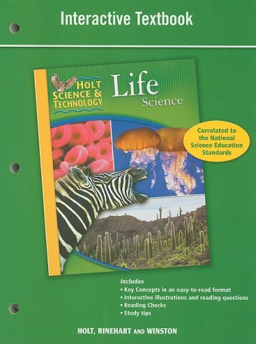 Holt Science & Technology: Interactive Textbook Life Science