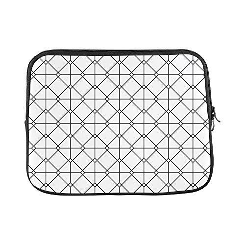 - Design Custom Vintage Euro Sham Mesh Italian Wrought Iron Gate Sleeve Soft Laptop Case Bag Pouch Skin for MacBook Air 11