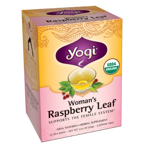 Yogi Women's Raspberry Leaf Tea