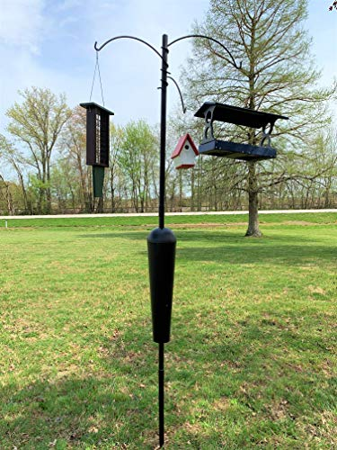 Squirrel Stopper Olympic/Shenandoah Bird Feeder Post w/ 3 Hanging Stations by Squirrel Stopper (Image #3)